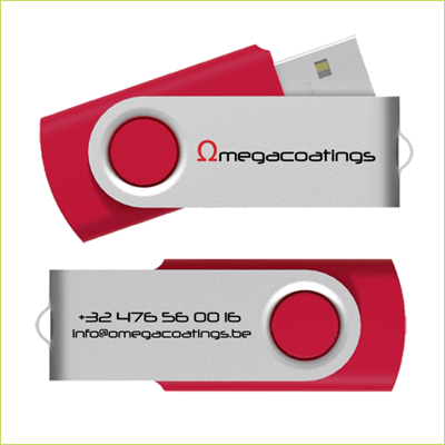 USBstick Omegacoatings